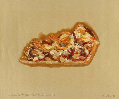 Ralph Fleck, 'Tortenstück 26/VIII (Apfel-Mandel-Streusel)', 1994