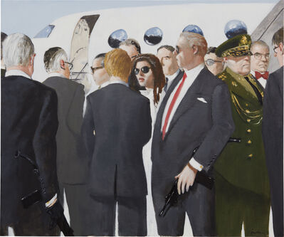 Julio Larraz, 'The Oracle at Agua Dulce Airbase', 2012