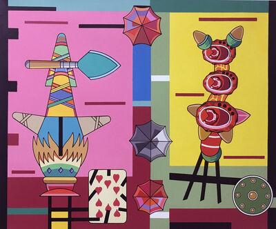 Trevor Winkfield, 'The Acrobats', 2015