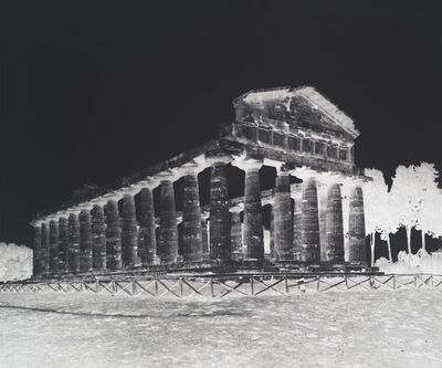 Vera Lutter, 'Temple of Athena, Paestum: October 5, 2015', 2015