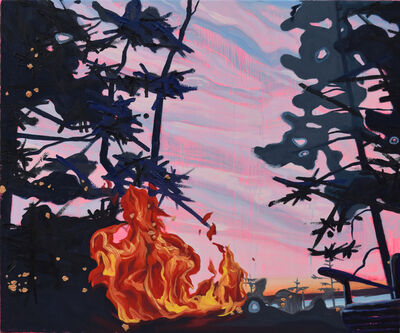 Mel Gausden, 'Thinking Of Old Flames', 2018
