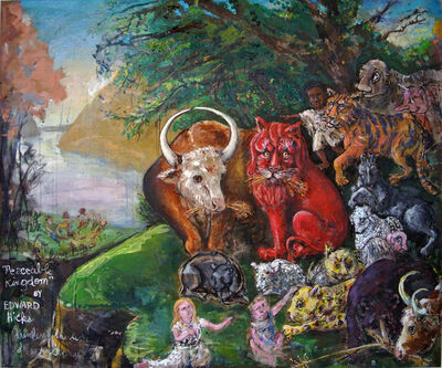 Dale Williams, 'Edward Hicks's Peaceable Kingdom', 2018