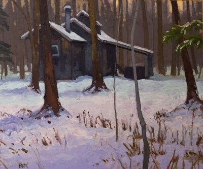 Réjean Roy, 'La cabane solitaire', 2019