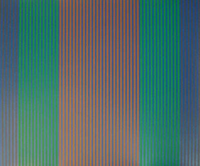 Karl Benjamin, 'Stripes I', 1979