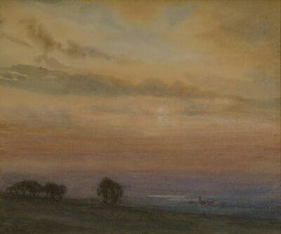Charles Harold Davis, 'Sunset Vista', ca. 1880