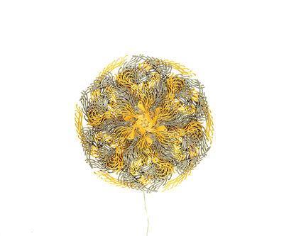 U-Ram Choe, 'Gold Cakra Lamp', 2013