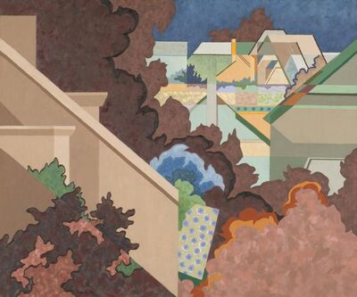 Easton Pribble, 'The First Suburban View', 1984