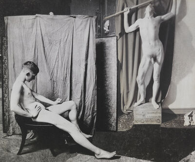 John O'Reilly, 'Two Models In The Studio', 1985