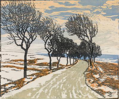 Josef Stoitzner, 'Alley of Trees', 1922