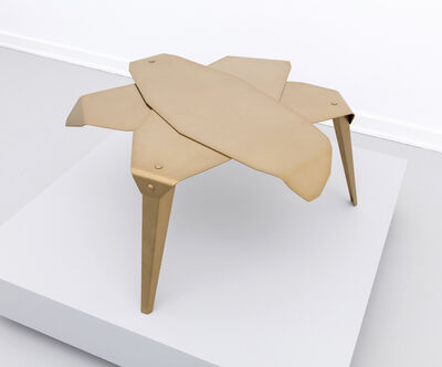 Jacob Mathias Egeberg, 'Folded leaf table', 2019
