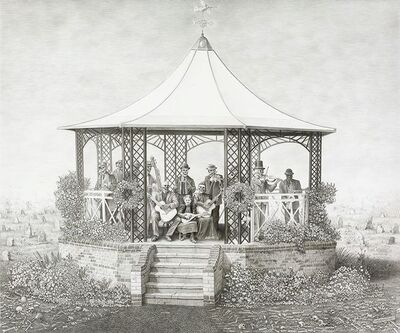 Laurie Lipton, 'The Music of Time', 2011