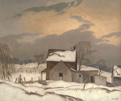 Alfred Joseph Casson, 'End of Day', 1967