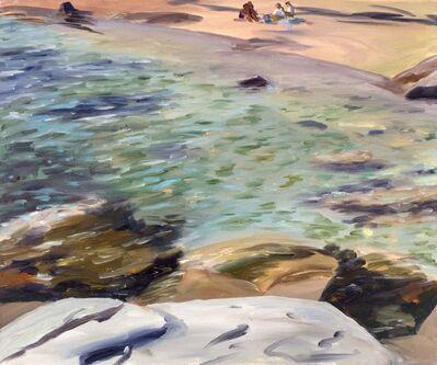 Joel Janowitz, 'Beach from Above', 1992