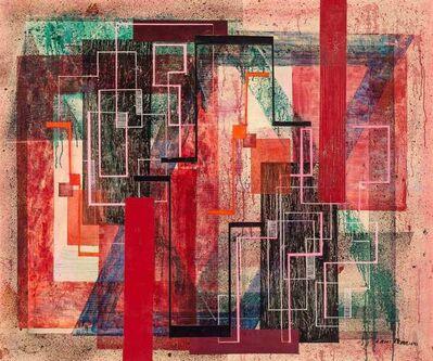 Irene Rice Pereira, 'Progression of Reds', circa 1946