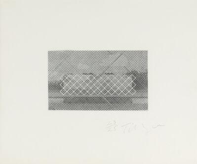 William Tillyer, 'The Lumsden's Pool', 1971