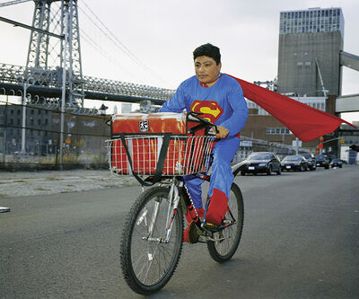 "Dulce Pinzon, 'Superman (from ""The real story of the Superheroes"") ', 2018"