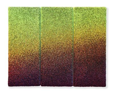 Zhuang Hong Yi, 'Tripych Flowerbed B20-A078', 2020