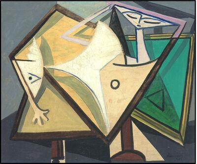 Óscar Domínguez, 'Mujer acostada', 1946