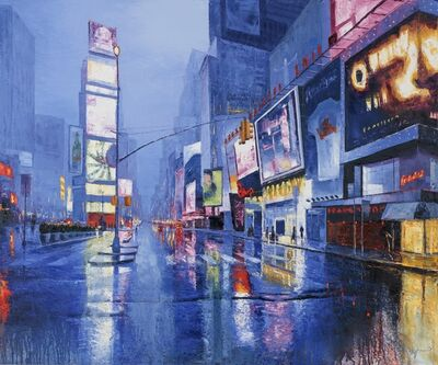 Davide Frisoni, 'NYC Rain', 2017