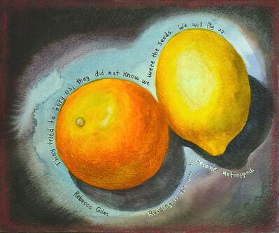 Rebecca Giles, 'Orange and Lemon', 2020