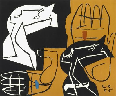 Le Corbusier, 'Untitled', 1955