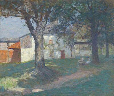 N.C. Wyeth, 'The Artist's Studio, Chadds Ford, Pennsylvania', Circa 1908-1910