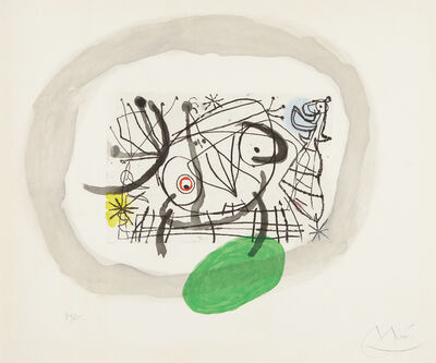 Joan Miró, 'Fissures: one plate', 1969