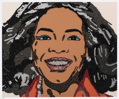 Mickalene Thomas, 'Oprah Winfrey, from When Ends Meet', 2007