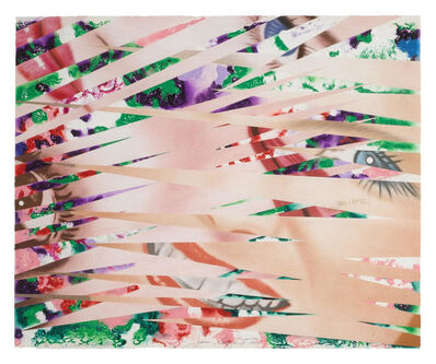 James Rosenquist, 'Crosshatch and Mutations', 1986