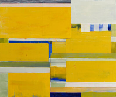 Lloyd Martin, 'Yellow Shim Small', 2015