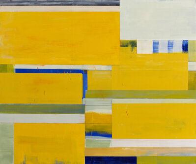 Lloyd Martin, 'Yellow Shim Small', 2015