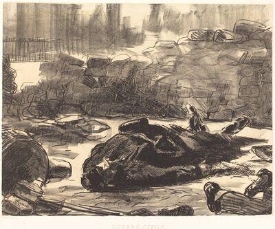Édouard Manet, 'Civil War (Guerre civile)', 1871