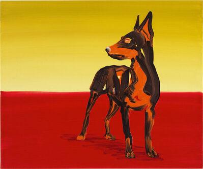 Cornelius Völker, 'Hund – Pincher', 1999