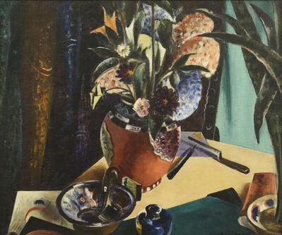 Preston Dickinson, 'Still Life with Flowers', 1923-1924