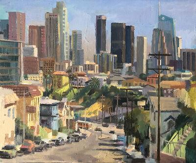 Alex Schaefer, 'LA Skyline from Everett Park', 2019