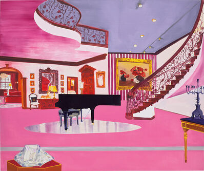 Dexter Dalwood, 'The Liberace Museum', 1998