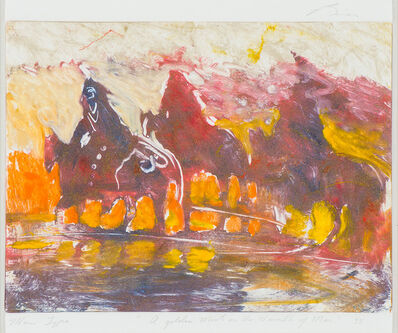 Earl Biss, 'A Golden Mist on the Warmth of Man', 1992