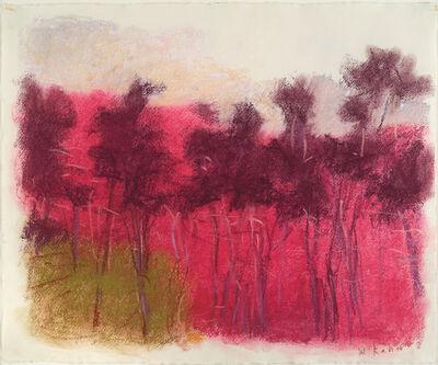 Wolf Kahn, 'Magenta Stand', 2006