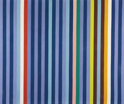 Gene Davis, 'Blue-Violet (Azul-Violeta)', 1967