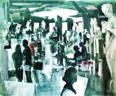 Altan Çelem, 'Atölye / Atelier', 2013