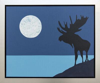 Charles Pachter, 'Moose Lunar', 2012