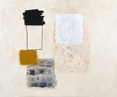 Rocío Rodriguez, 'Black, Ochre, White', 2017