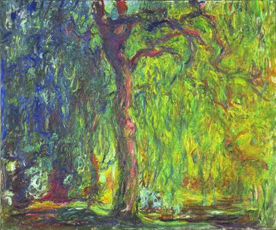 Claude Monet, 'Weeping Willow', 1918–1919