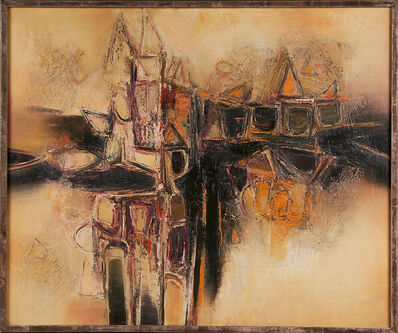Gulam Rasool Santosh, 'House Reconstruction', 1952