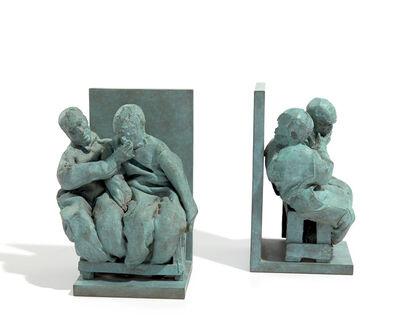 Juan Muñoz, 'Untitled (bookends)', 1999