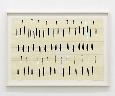 Carola Dertnig, 'Singing Nails II', 2019