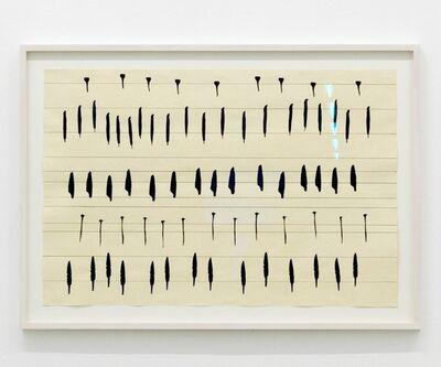 Carola Dertnig, 'Singing Nails II', 2019