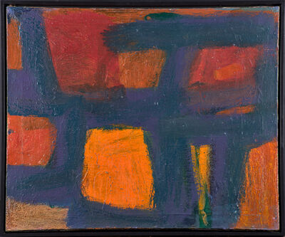 Patrick Heron, 'Big Blue, Yellow, Red', 1961