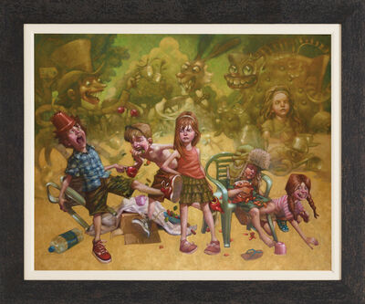 Craig Davison, 'We're All Mad Here, I'm Mad, You're Mad', 2017