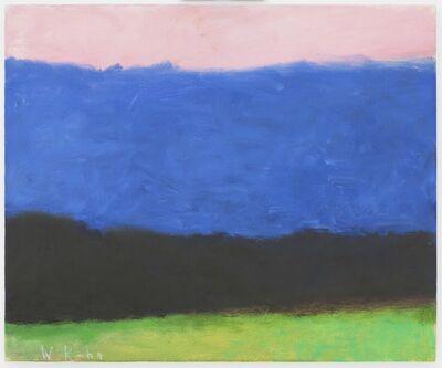 Wolf Kahn, 'Simple Summer Landscape', 2006